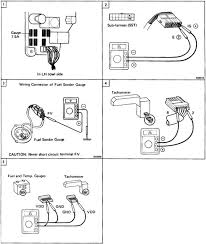 troubleshooting wiring diagram toyota celica supra mk2 86 repair toyota speed meter tacho sub harness sst