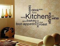 Wonderful Kitchen Wall Design With Three Bottles Of The Booklet ...