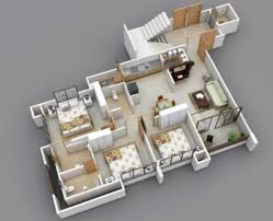 Well Designed 3d House Plan Design