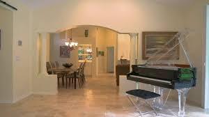 Acrylic Flooring Grand Designs Demo Of The Aire Acrylic Baby Grand Piano By Euro Pianos Ebony Polish With Chrome