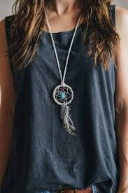 Dream Catcher Neclace Interesting Dreamcatcher Necklace SN32 Jewelry Pinterest Dream Catcher