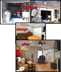 how to turn a garage into family room convert yourself converting cost organizing ideas and storage