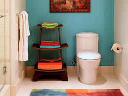 Small Picture Chic Cheap Bathroom Makeover HGTV
