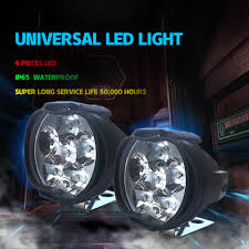 Service Truck Led Work Lights Us 9 09 20 Off Headlight Led 4x4 12 Volts Work Lights Off Road Led Light Bar Car Styling For Peugeot 206 Auto Accessories Bicycle Trailer Truck In
