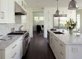 white cabinets dark floors. dark hardwood floors with white cabinets and marble countertops!
