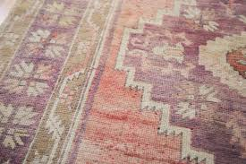 triple medallion oushak runner turkish oushak carpet