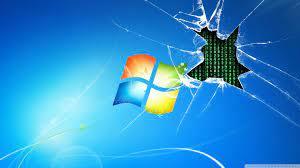 Windows 7 runs on the Matrix [Wallpaper ...