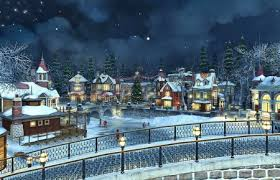 christmas town wallpaper. Brilliant Christmas Christmas Town  Other U0026 Abstract Background Wallpapers On Desktop Nexus  Image 1901731 And Wallpaper E