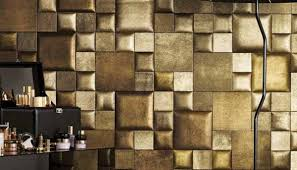 Small Picture Leather Wall Tiles and Decorative Paneling Adding Chic Wall