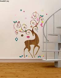 17 beautiful wall decoration ideas design swan xmas wall decorations