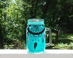 Dream Catcher Jar Lunar Moon Phases Dream Catcher Stars Tribal Mother's Day Gift 31