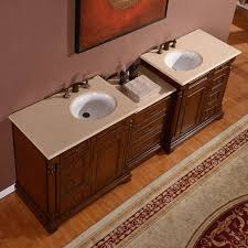 Bathroom Lavatory Sink Silkroad Exclusive 925 Double Lavatory Sink Cabinet Bathroom