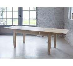 Table Carree Avec Allonge Ch 234 Ne Massif Quot Stockholm Naturel