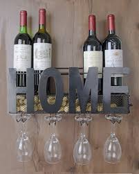 csmile iron wine rack wall mounted black wine glass rack wine cork holder gifts come with