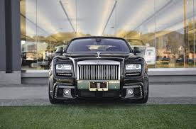 rolls royce ghost black 2013. this 2013 rolls royce ghost is wearing the latest wald kit strangely named black bison bb a line of kits that are more aggressive looking