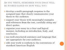 e ssay the truman show prompt a ttacking the p rompt g etting  5 a s you write remember your essay will be scored based on how well you develop a multi paragraph response to the assigned topic that clearly