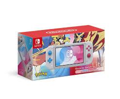 Máy chơi game Nintendo Switch Lite Zacian & Zamazenta Edition Giá Rẻ