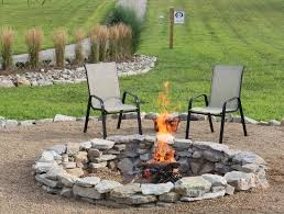 outdoor stone fire pit. Backyard Ideas Fire Pit Stone Budget, Concrete Masonry, Landscape, Outdoor Living, The