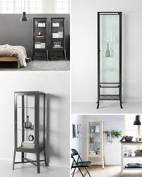 klingsbo glass door cabinet. Decorating With Glass Display Cabinets / Sfgirlbybay Klingsbo Door Cabinet R