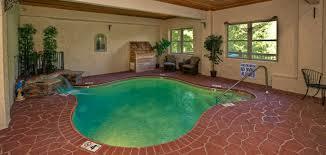 gatlinburg one bedroom cabin with indoor pool. swimming in the smokies gatlinburg cabin one bedroom with indoor pool