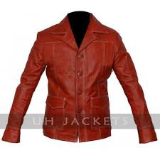 fight club tyler durden brad classic punk coat