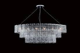 contemporary chandelier murano glass incandescent