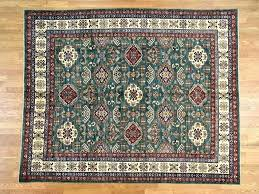 2 Hunter Green Rug Area Rugs Carpets  Mint