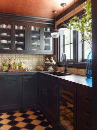 Custom black kitchen cabinets Contemporary In The Pantry Of Bronxville Ny Kitchen Designer Leslie Dunn Based Norfolk Kitchen Bath Are Colorful Kitchens The New Status Symbol Wsj