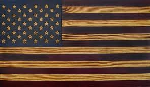 rustic flag wooden american usa wall art flags c