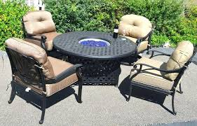 patio dining table with fire pit awesome patio dining table with fire pit for fire pit