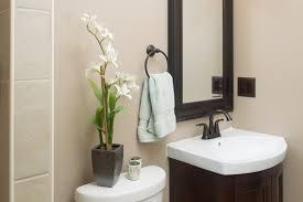 Interior  Contemporary Bathroom Ideas On A Budget Craftsman - Small apartment bathroom decor