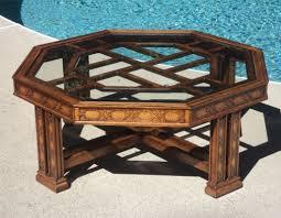fretwork furniture. Octagonal Fretwork Coffee Table Julesmoderne Com Coaster Fine Furniture 9474829 -