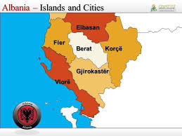 powerpoint map templates albania powerpoint map templates youtube