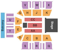 Ocean Center Seating Chart The Mac At Monmouth University Tickets And The Mac At