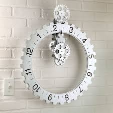 Small Picture Enchanting Oversized Wall Clocks Modern 87 Extra Large Modern Wall