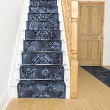 pallas blue stair runner