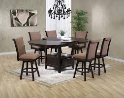 stylish dining room set with swivel chairs pantry versatile swivel dining room chairs plan
