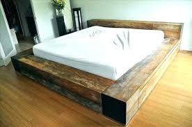 diy king platform bed frame. Build Platform Bed Homemade Stupendous With Drawers Plans . Diy King Frame
