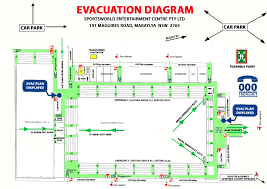 Evacuation Plan Sample Emergency Evacuation Plan Horseworld Stadium