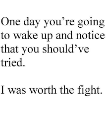 Quotes About Fighting For The One You Love Mesmerizing Quotes About EX I Hope When That Day Happens You'll Feel Horrible