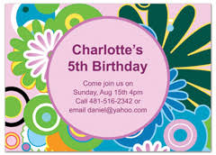 birthday invitations samples download kids boy girl printable ms word birthday invitation