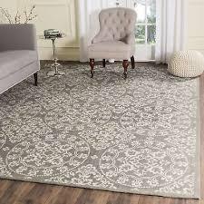 safavieh handmade cedar brook grey natural jute rug 6 x 9