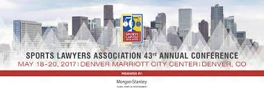 home the sports lawyers association is a non profit international professional organization whose common goal is the understanding advancement and ethical practice of sports law