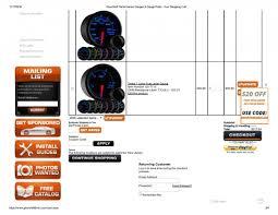 custom gauge cluster ih8mud forum glowshift performance gauges gauge pods your shopping cart page 003 jpg