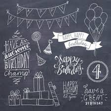 Share the best gifs now >>> Happy Birthday Clip Art Set Hand Lettering Word Art Etsy Happy Birthday Clip Art Lettering Happy Birthday Clip