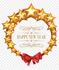 star clipart new year frame happy new year png 341258