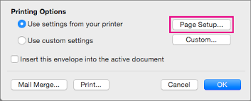 Create And Print A Single Envelope In Word For Mac Word For Mac