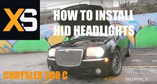 chrysler 300 c how to install hid xenon w wiring harness 2005 chrysler 300 c how to install hid xenon w wiring harness 2005 2010