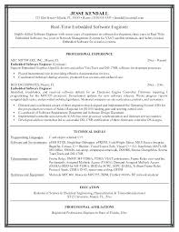 Objective In Resume For Software Engineer Experienced Software Resume Objective Objective For Software Engineer Resume