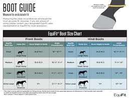Dynamic Edge Boots Size Chart Equifit